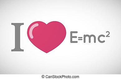 "théorie, love"", relativité, ""i, formule, hiéroglyphe"