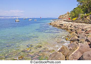 Théoule sur Mer, south of France