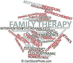 thérapie, famille