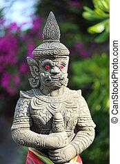 thaï, statue, guerre