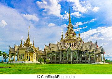 thaï, temple, dans, thaïlande