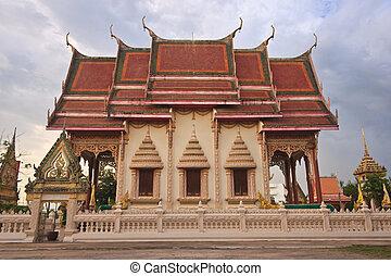 thaï, temple