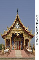 thaï, temple, wat, koungmeun, mai, thaïlande