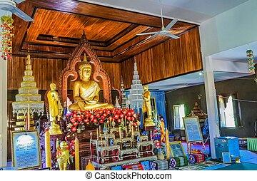thaïlande, klang, ubonratchathani, wat