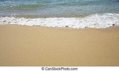thaïlande, ondes sonores, paradis tropical, doux, plage