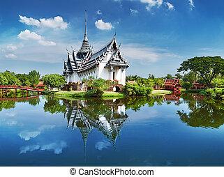 thaïlande, sanphet, prasat, palais