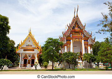 thaïlande, wat, bangor
