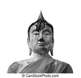 thaïlande, yaichaimongkol, wat, bouddha, ayutthaya