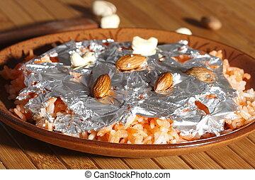 thahiri, es, un, dulce, plato, de, india