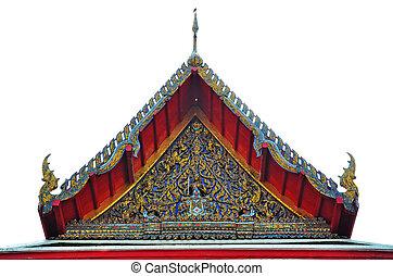 Thai Ancient Gable