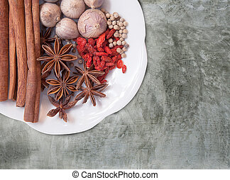 thai and asia spice herb alternative natural drug for healthy li