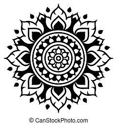 Thai art pattern, traditional desig