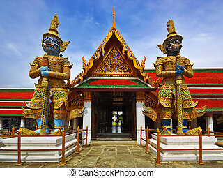 Thai Authentic Architecture in Bangkok