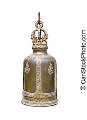 Thai bells on a white background.
