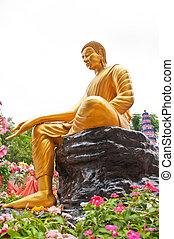 Thai Buddha Golden Statue