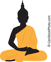 Thai Buddha.