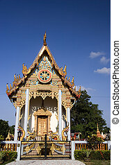 Thai Buddhist Temple - Thai Buddhist temple located in...