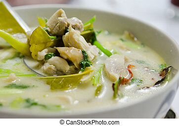 thai chicken curry - thai curry made from chicken , ...