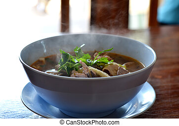 Pork Spare Rib Soup , hot and spicy