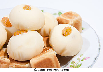 Thai dessert and snack Moji dice