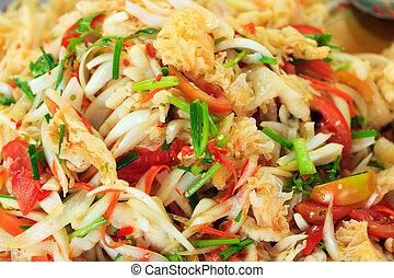 Thai dish at the market