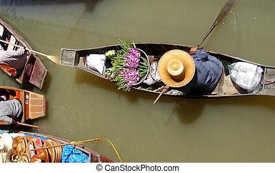 Floating Market - Thai Floating Market