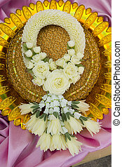 Thai flower garland