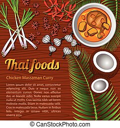 Thai Food Menu Massaman