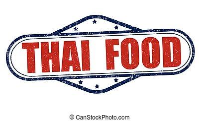 Thai food stamp