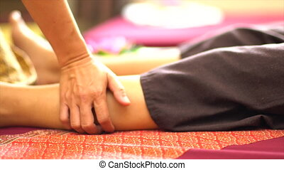 Thai Foot Massage, Spa Concept