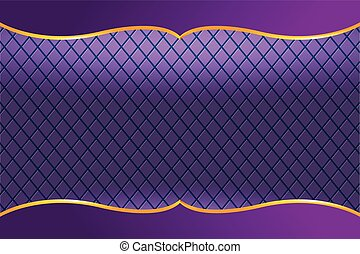Thai Frame Luxury Violet Background Vector