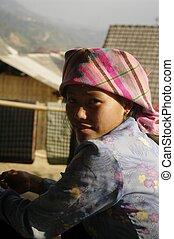 Thai girl ethnicity portrait - Girl Thai ethnicity, the...