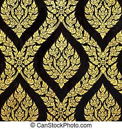 Thai gold art