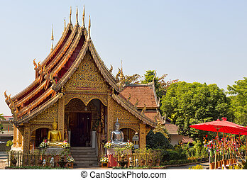 Thai golden temple