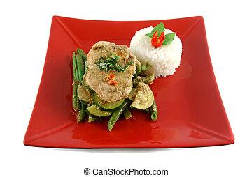 Thai Green Poached Chicken 1