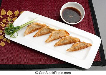 Thai Gyoza Dumplings