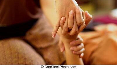 Thai hand Massage, Spa Concept