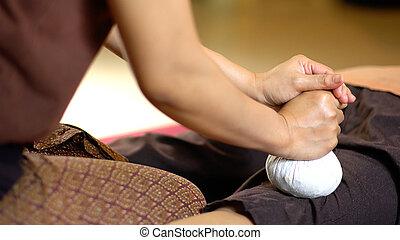 Thai Herbal Ball Massage, Spa Concept