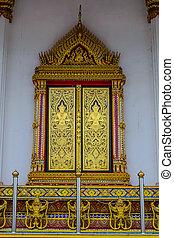 thai, het kunstwerk