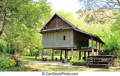 Thai house, old style