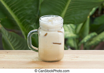 Thai ice coffee