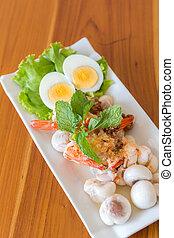 mangosteen spicy salad
