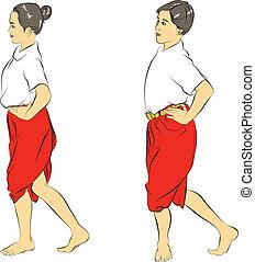 Thai national dances