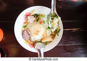 Thai noodle, local food
