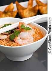 Thai Noodle Soup with Prawns