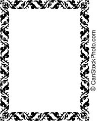 thai pattern frame