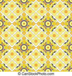 Thai pattern graphic, vector,