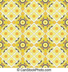 Thai pattern graphic, vector,