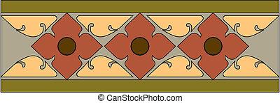 Thai pattern graphic,vector,