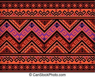Thai Pattern Vintage